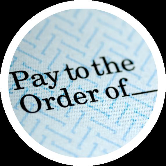 Money Order Slip